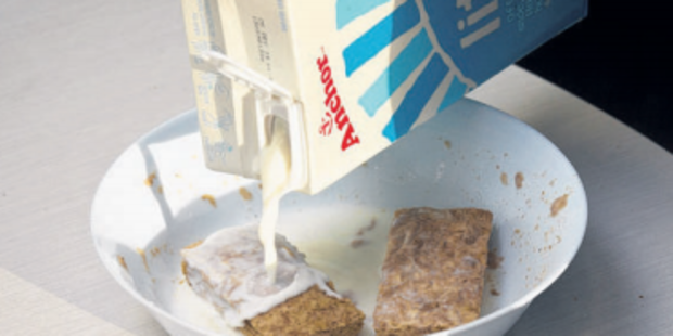 Cereal, milk and toast are paid for by donations. Photo/file
