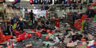 More than $70,000 worth of sporting goods were stolen in a ram-raid of Anderson & Hill Sportspower. Photo / supplied