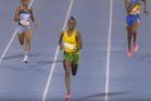 12-year-old Brianna Lyston sprints through the home straight to demolish the Jamaican Class 4 200m record. Photo / YouTube.
