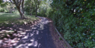 The car was in Lovers Lane when the branch fell on it. Photo /  Google Maps Street View