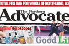 There will be no Northern Advocate published today due to an electrical fault at the printing press.