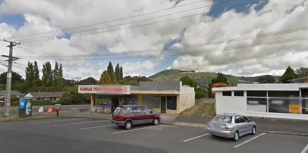 The Kawaha Point Superette was robbed in March last year. Photo / Google