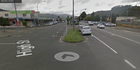 Two people were injured, one critically, in a crash after a driver fled from police in Lower Hutt tonight. Photo / Google