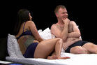 Pam and Cam get undressed in the controversial new Aussie reality show. Photo/YouTube