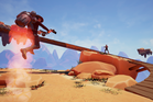 The high-flying, space set Western SkyNoon that has proved a success on Steam. Photo/Supplied