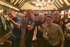 Viggo Mortensen, Orlando Bloom, Dominic Monaghan, Elijah Wood and Billy Boyd reunited this week. Photo/Instagram