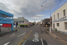 An elderly woman is in a critical condition after being hit by a car while crossing the road on Great King St in Dunedin.