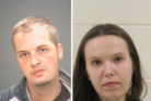 Charles Dowdy and Danielle Simko are set to appear in court after police said their 7-year-old son overdosed on heroin inside their home. Photo /Cuyahoga County Sheriff's Department