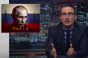 John Oliver used a whole episode to warn Donald Trump about Russidan president Vladimir Putin. Photo/HBO