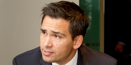 Minister Simon Bridges said the properties were in his Super fund for genuine investment reasons. Photo / Glenn Taylor