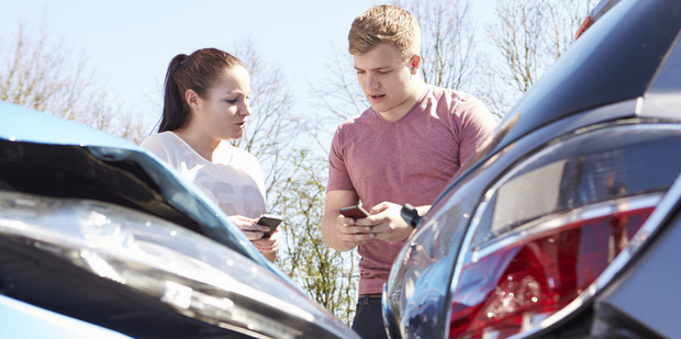 A vehicle accident for which you're not insured can be financially crippling. Photo / Thinkstock