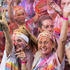 Contestants enjoy the 2016 Colour Run in Albany, Auckland. Photo / Greg Bowker