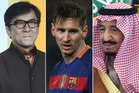 Jackie Chan, Lionel Messi and the King of Saudi Arabia have all been implicated in the Panama Papers leak. Photos / Getty