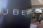 Uber drivers usually kept 80 per cent of the fare, paid via a pre-registered credit card. Photo / AP
