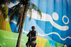 The fears of a terrorist attack and the need to keep down the city's crime problem has led to the deployment of 80,000 security forces in Rio de Janiero. Photo / AP