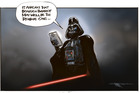 Beauden Barrett wins Rugby player of the year - as Star Wars blockbuster Rogue One is released. Illustration / Rod Emmerson