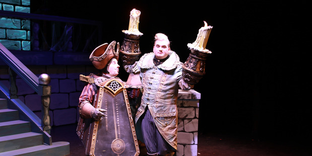 Cogsworth, played by Andrew Beale and Lumiere, played by Grayson Richards, are great fun to watch in this production, and are never overshadowed by their undoubtedly fantastic costumes.