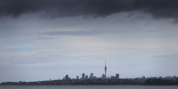 Loading The North Island is bracing for hours of heavy rain that is expected to worsen throughout the day. File photo / Doug Sherring