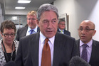 Hopes for a binding referendum on North Rodney seceding from the Auckland Super City lie in the hands of Winston Peters and his New Zealand First negotiating team. Photo / Mark Mitchell