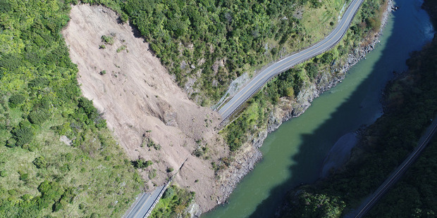 Shortlisted new options to replace the Manawatu Gorge have been revealed. PHOTO/FILE
