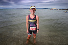 Sarah O'Grady was chased by a shark the day before the Classic Builders Tinman Triathlon at Pilot Bay but experts say people shouldn't be worried. Photo/File