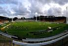 Yarrow Stadium needs immediate earthquake strengthening. Photo / Photosport