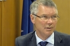 Attorney General David Parker and Health Minister David Clark on the drinking water quality report released today. 100,000 New Zealanders may be exposed to sub-standard water. / Video by Mark Mitchell