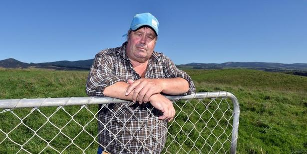 Hillgrove farmer Ken Wheeler is frustrated with the compensation process for Mycoplasma bovis. Photo: Gregor Richardson