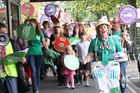 Not everybody loved National Standards. Masterton teachers and parents marched in 2013 against education reforms and National Standards.  Photo / File