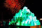 Bright Nights lighting experience opened with fireworks on Friday. Tonight it will close with them. Photo / Supplied