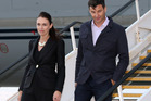 PM Jacinda Ardern says her partner Clarke Gayford didn't let slip the gender of the baby. Photo / Getty Images