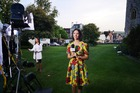 Shannon Redstall reporting on the royal wedding in Windsor, England.