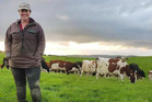 Amanda Brown has a passion for the dairy industry, particularly Ayrshire cattle. Photo / Supplied