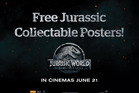 Get your Jurassic Collectable Poster in the paper this Friday!