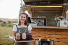 Maggie Gray, owner of moving smoothie bar Rawe Living. Photo / Supplied