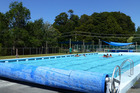 Covering and heating the Ohakune swimming pool was the subject of one submission to Ruapehu District Council's Long Term Plan. Photo / supplied