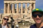 Gary Pointon in Athens.
