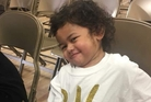 Puniani Maile, 2, shot himself in the head with his father's loaded handgun in Utah last month. Photo / Facebook