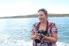 Gemma McGrath studies Māui and Hector dolphins. Photo / supplied