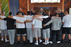 The Northland Regional Corrections Facility's 'Whare' Graduation last Friday.