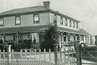 Heretaunga School's second school house and hostel, around 1900 in Karamu Rd, Hastings. Photo / Michael Fowler Collection