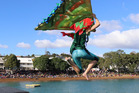 The Russell Birdman Festival is on today and tomorrow in the Bay of Islands.