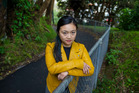 Grace Leung managed to escape the man who attacked her on this pathway at Massey University in 2011 by punching him in the face. Photo/Mark Mitchell
