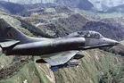 A Royal New Zealand Air Force Skyhawk crashed at Kakariki, near Halcombe, in 1996. Photo / File