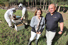 Tai Tokerau Honey is proudly based in the Far North, say owners Lonnie and Rob Murray. Photo / Supplied