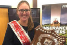 Young Southland dairy farmer Brooke Flett has won the Young Farmers national stock-judging competition.