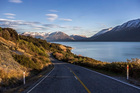 The road that links Queenstown to Glenorchy, along Lake Wakatipu, New Zealand. Photo / Getty Images