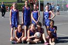 One of the Frankton School teams which played in the Future Ferns Festival on Sunday. Photo / Judy Macdonald