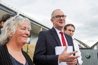 Phil Twyford announcing new housing policy. Photo / Paul Taylor