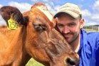 Taranaki Federated Farmers sharemilker chair Matthew Herbert